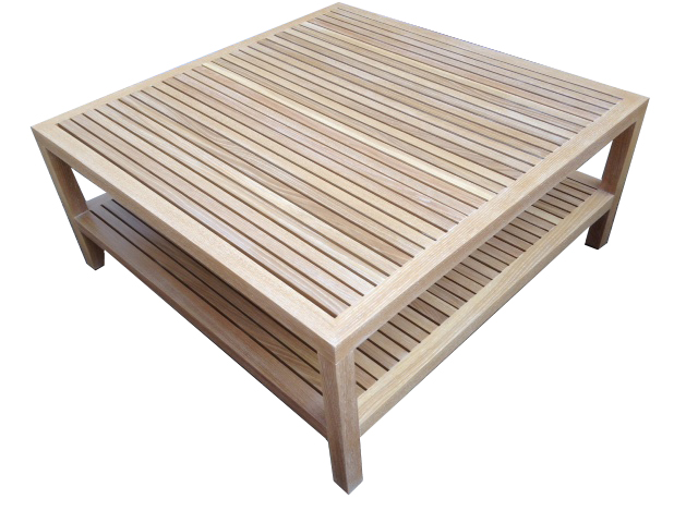 Slatted Coffee Table #2050
