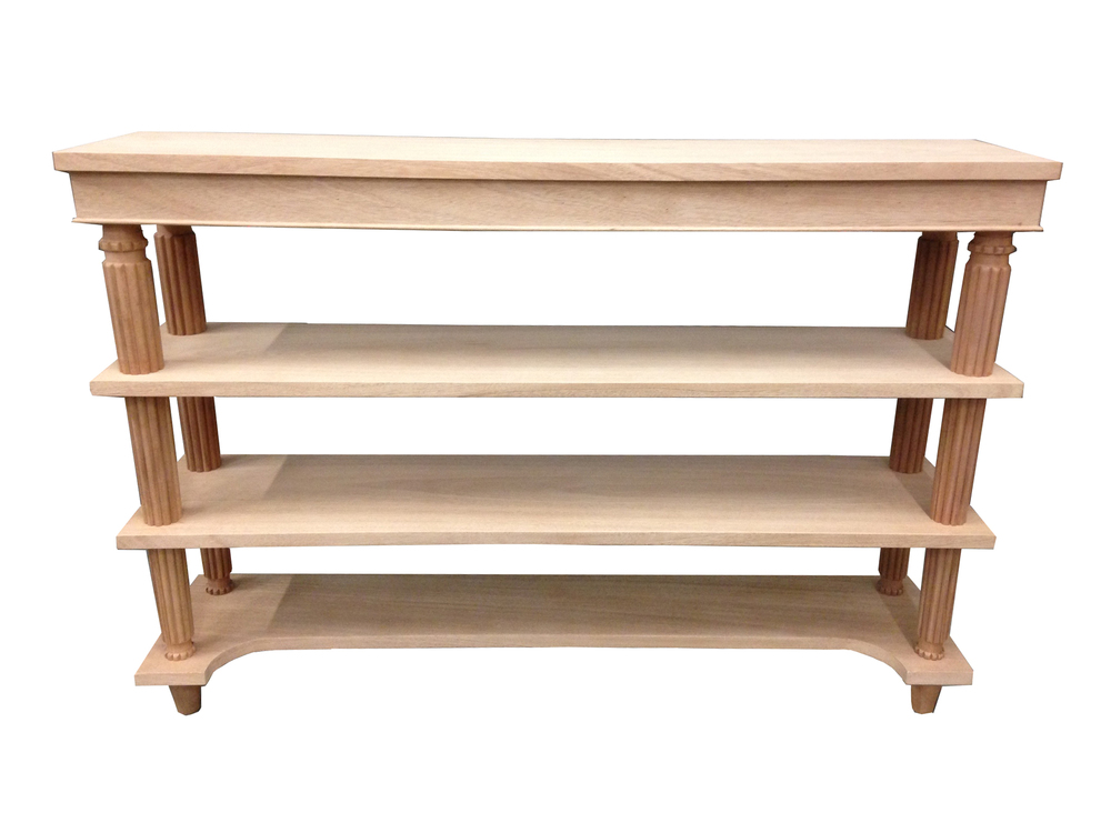 Reeded Console Table #2062