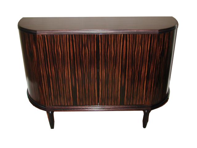 Ebony Demi Cabinet #2074