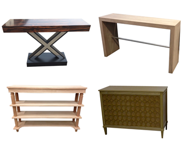 View all console tables