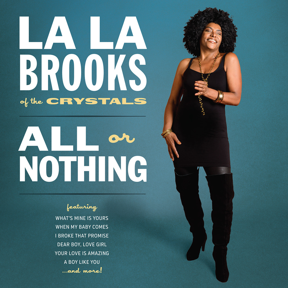 La La Brooks - All or Nothing LP/CD cover