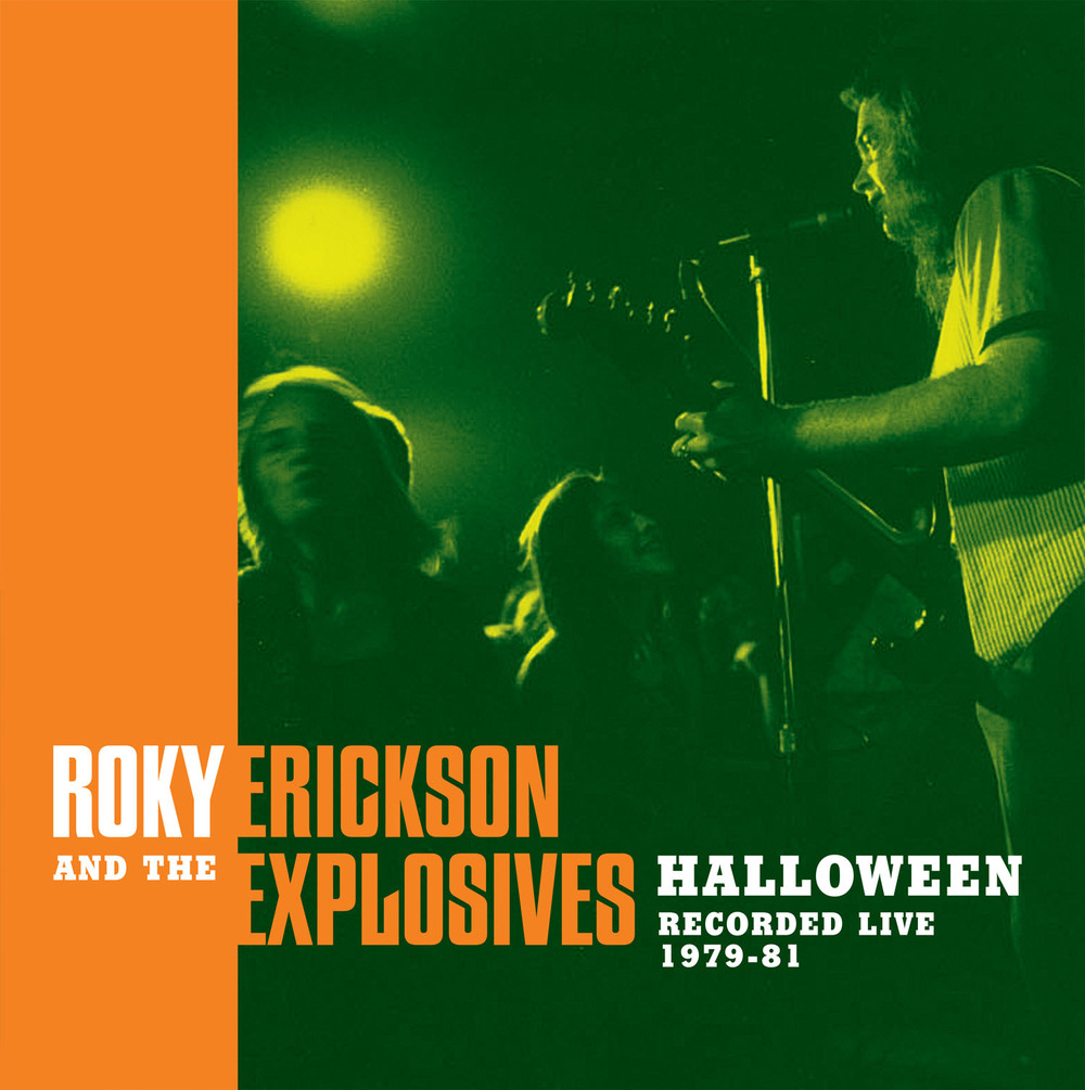 Roky Erickson and the Explosives - Halloween LP cover