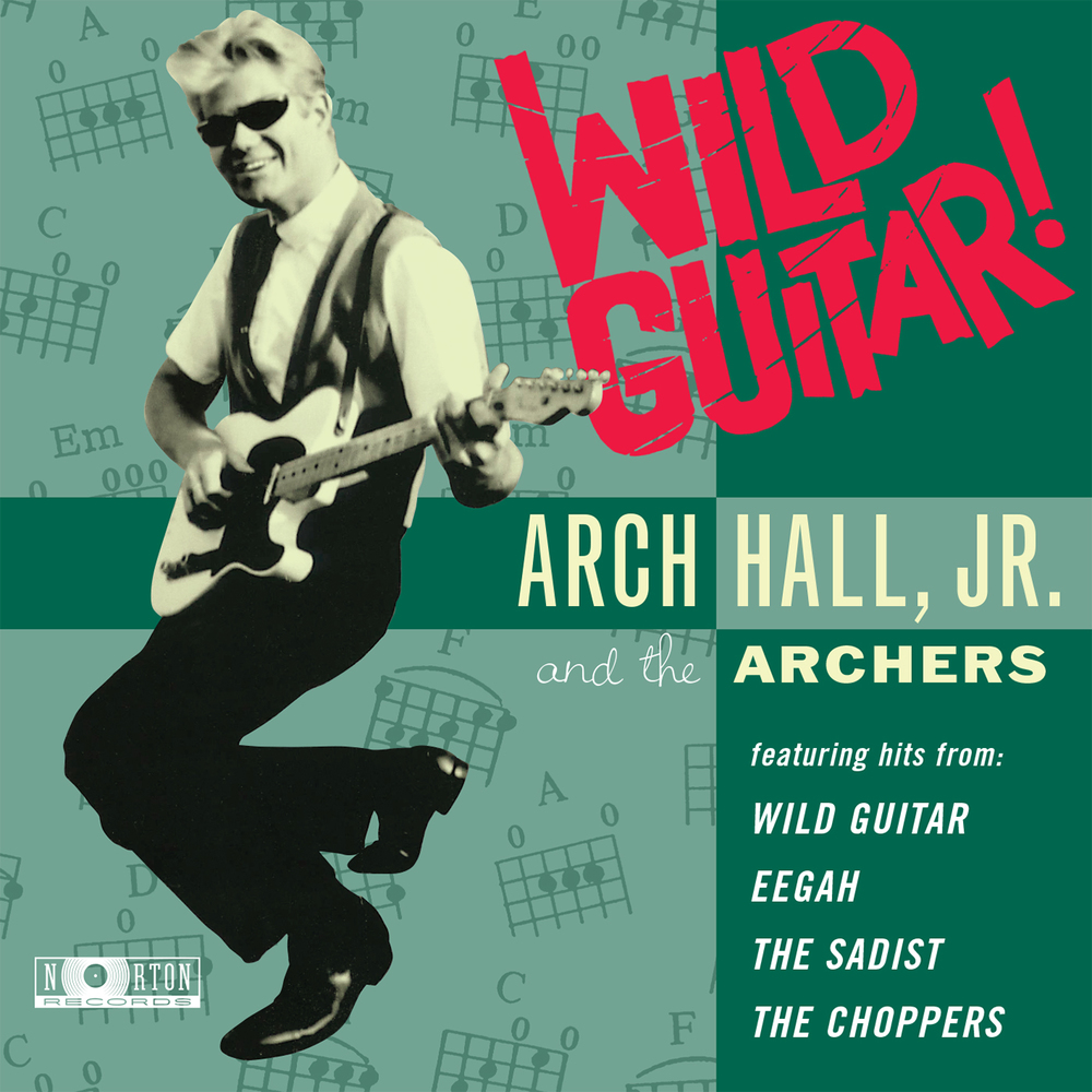 Arch Hall, Jr. - Wild Guitar! CD cover