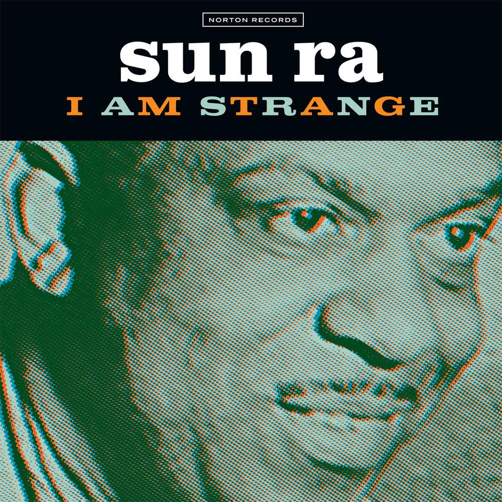 Sun Ra - I Am Strange 45 sleeve