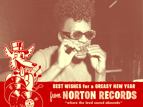 Norton New Year's postcard
