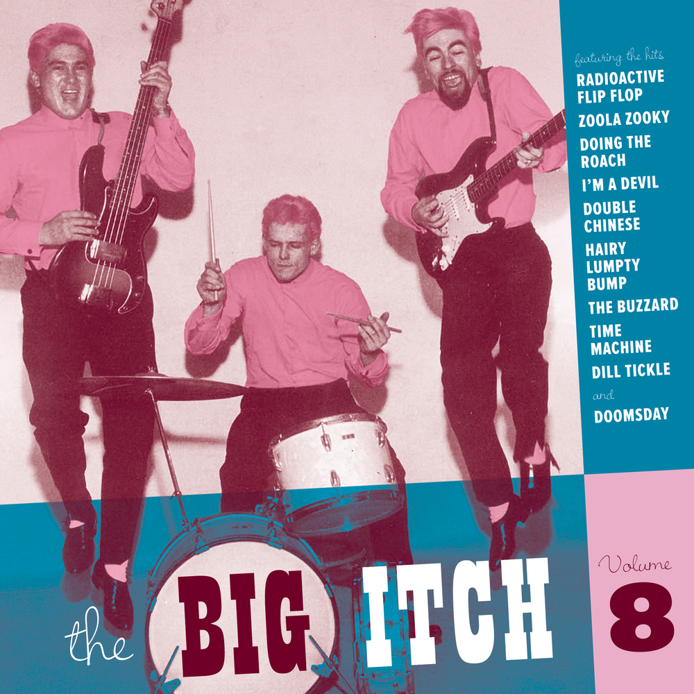 The Big Itch, Vol. 8 LP cover
