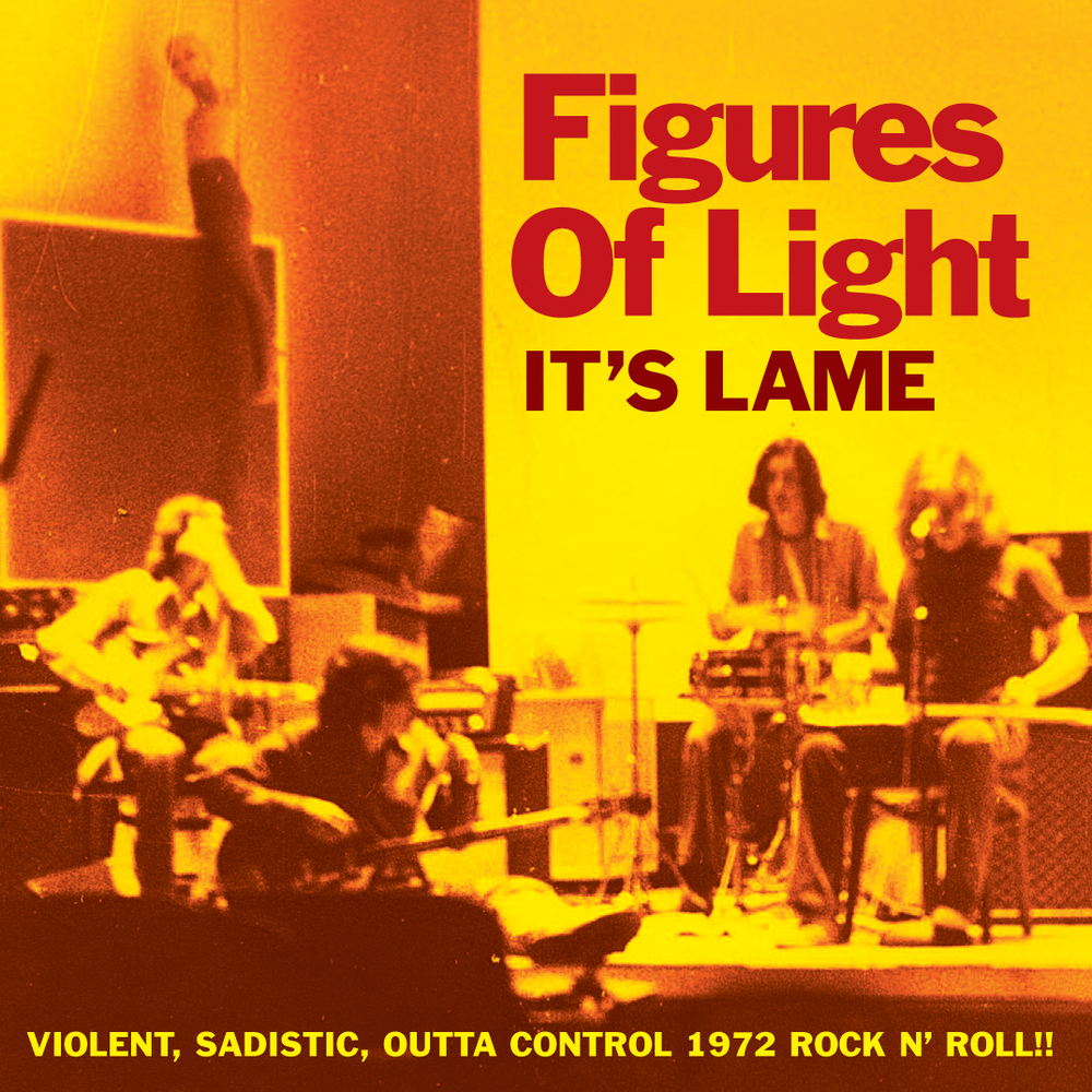 Figures of Light - It's Lame 45 sleeve