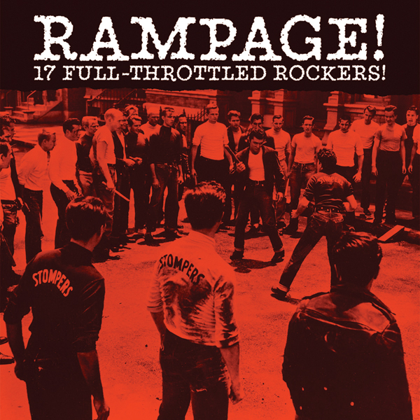 Rampage! LP cover