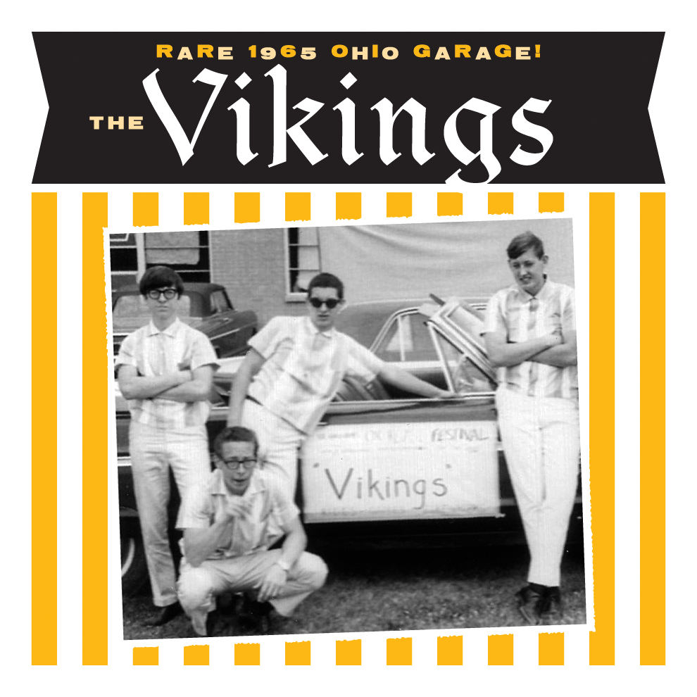 The Vikings - 45 sleeve