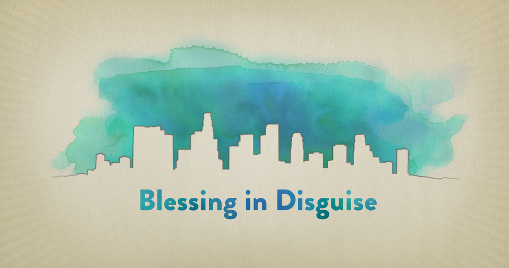Blessing in Disguise title card