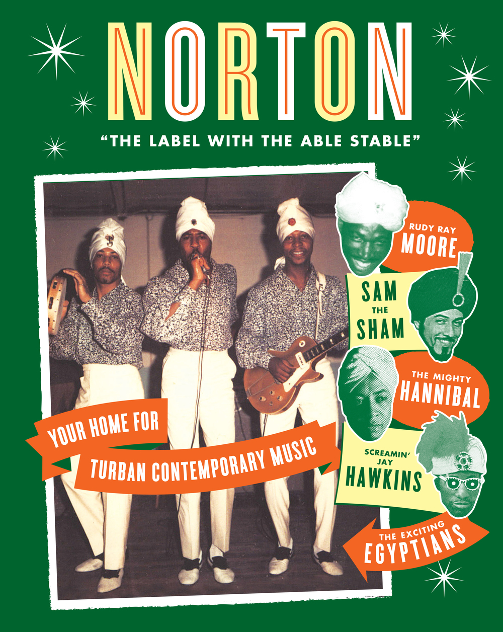 Norton Records mail-order catalog cover