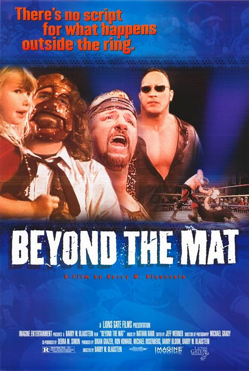 Beyond the Mat one-sheet poster