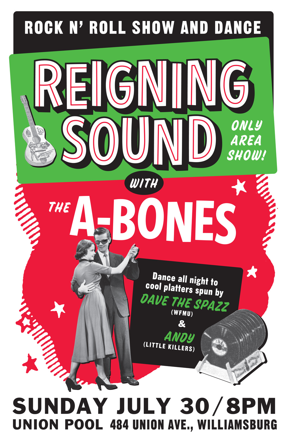 Reigning Sound concert poster