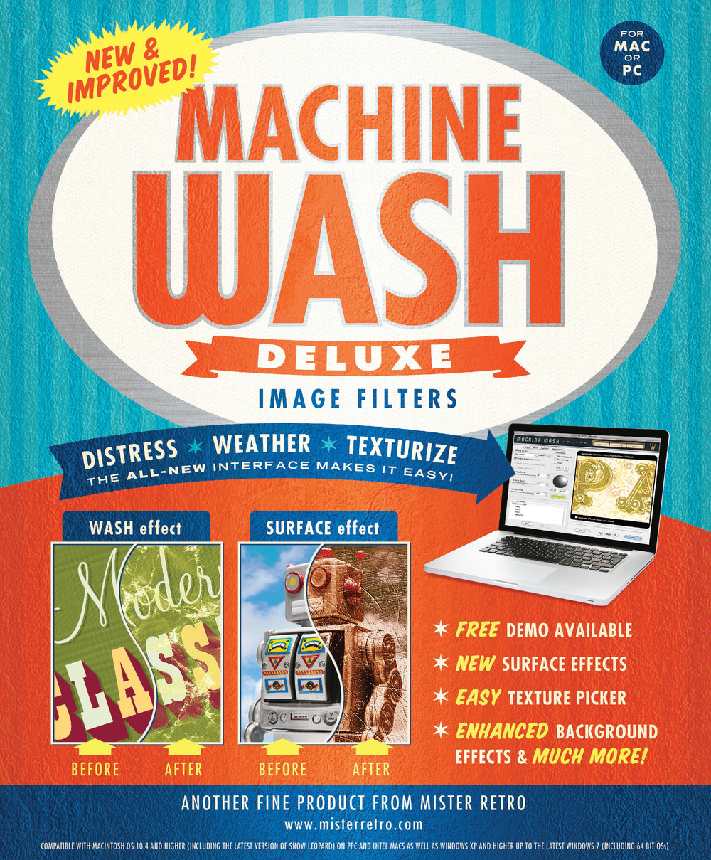 Machine Wash Deluxe ad