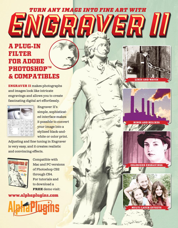 Engraver II ad