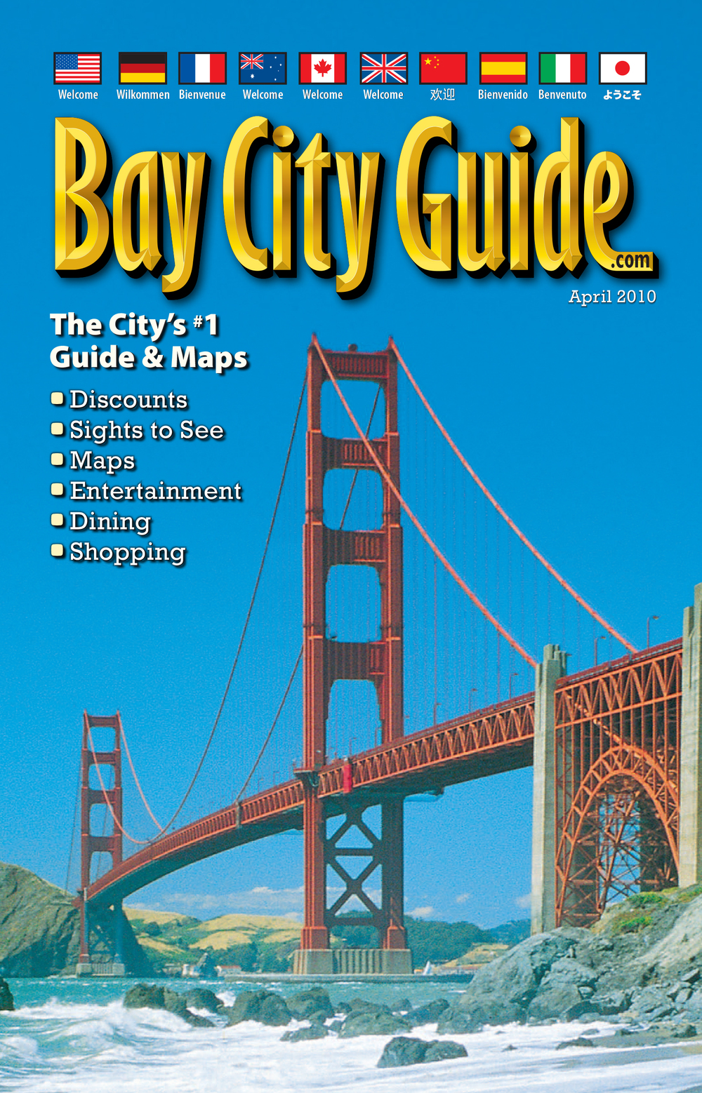 Bay City Guide magazine cover