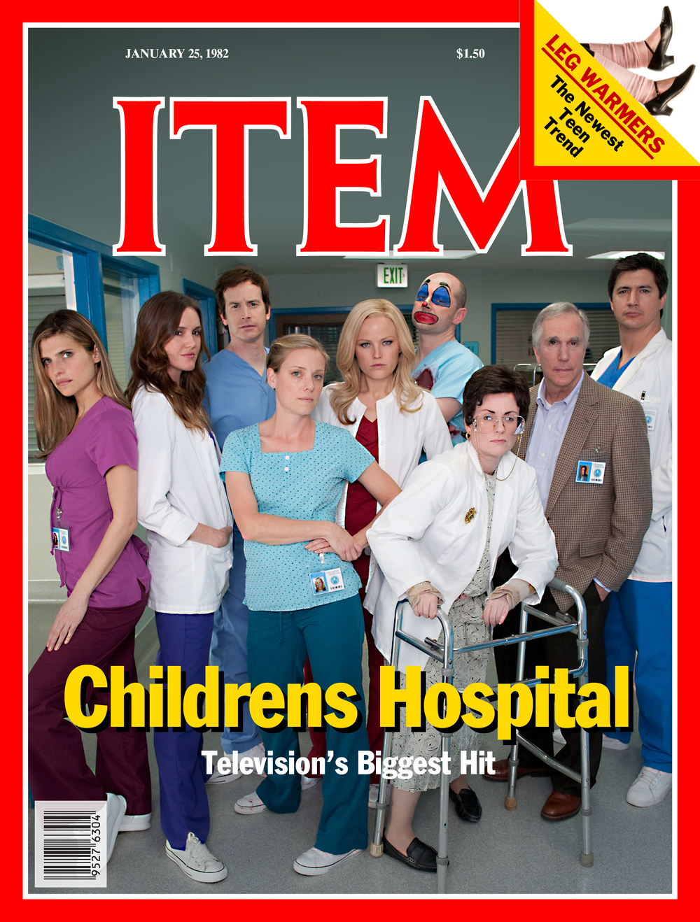 Childrens Hospital/magazine cover