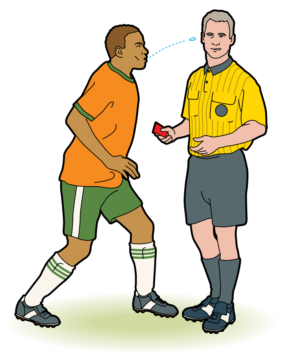 World Cup misbehavior