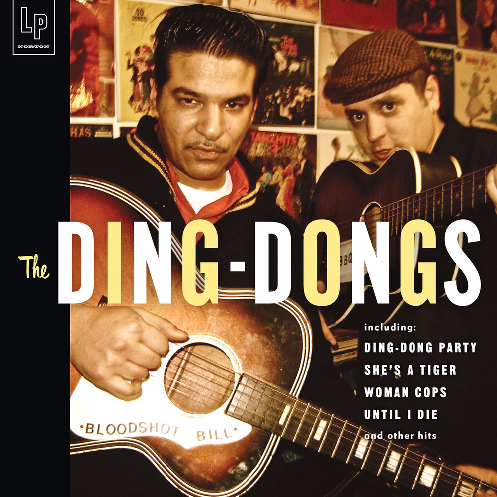 The Ding-Dongs LP cover