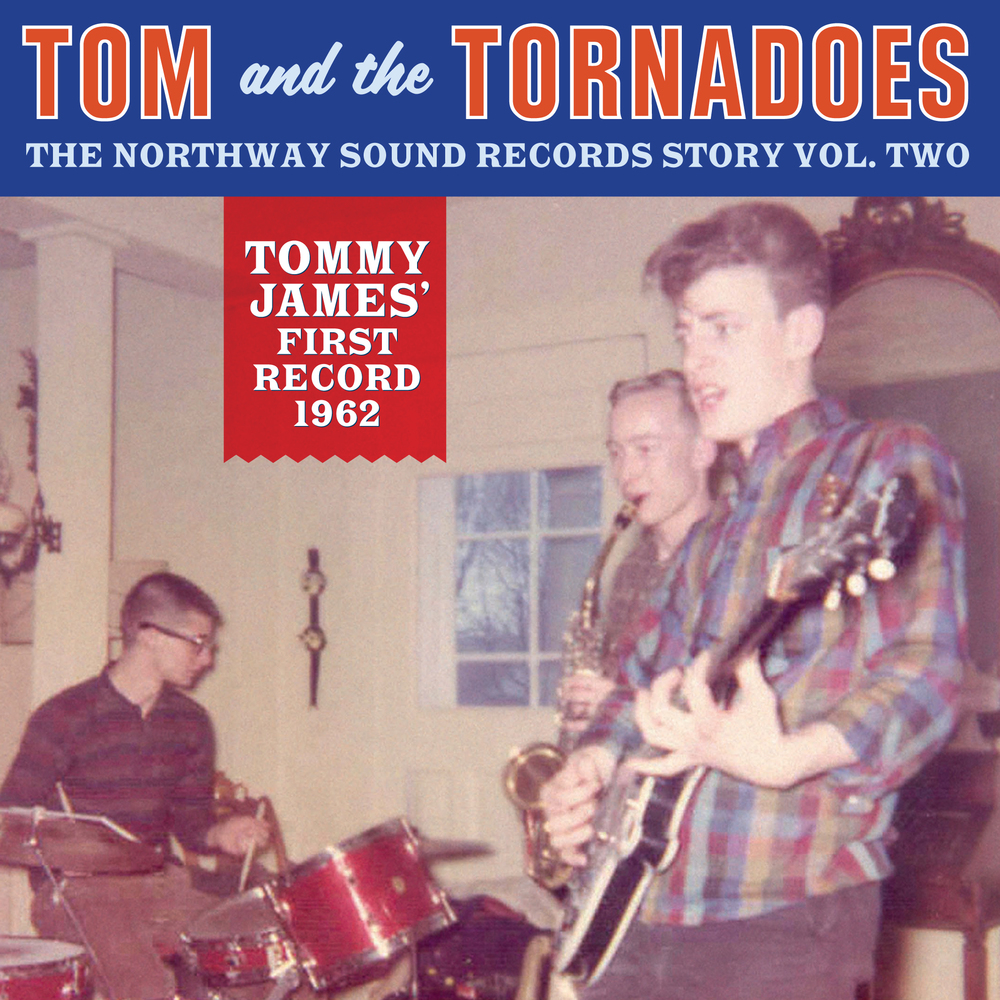 Tom and the Tornadoes 45 sleeve