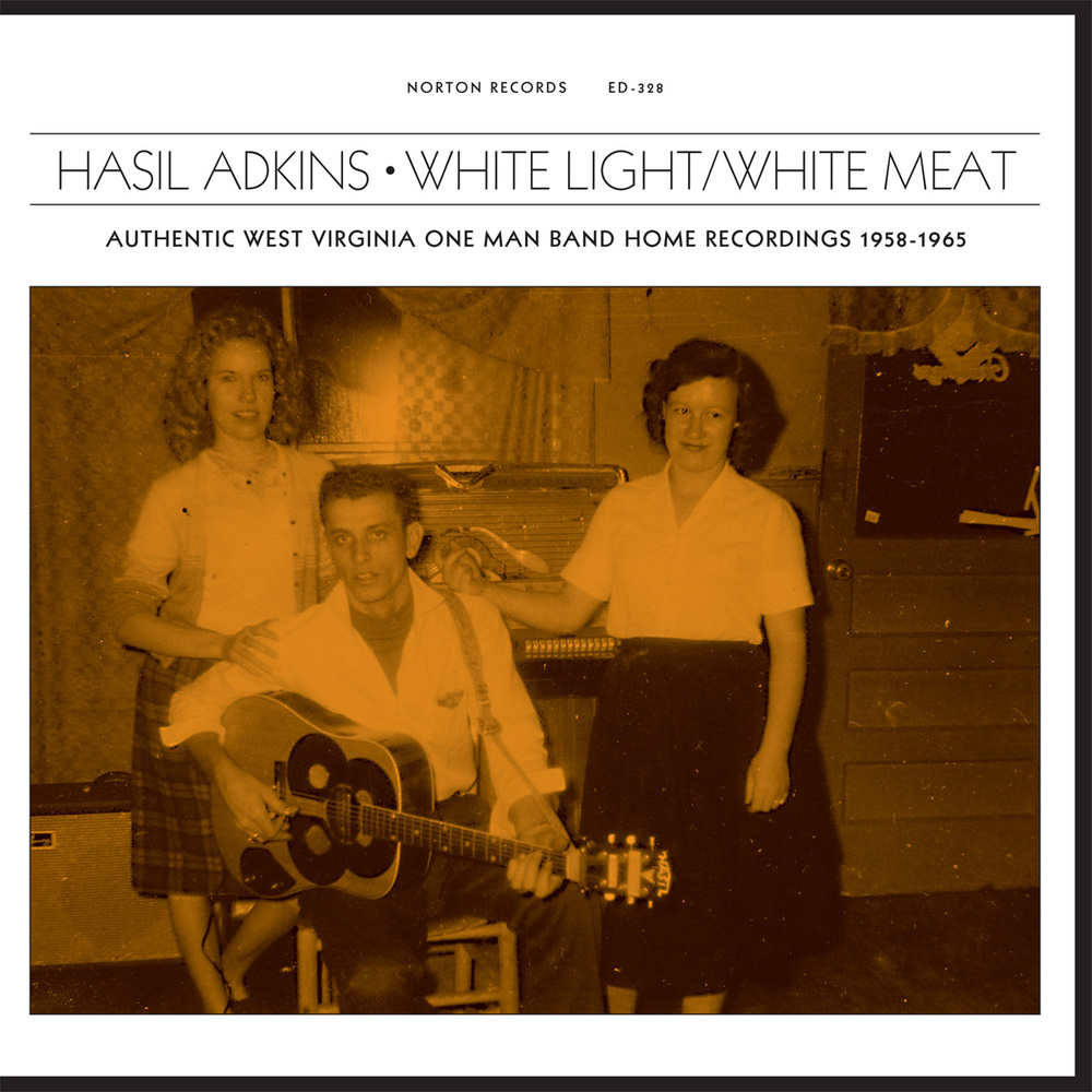 Hasil Adkins - White Light/White Meat LP cover