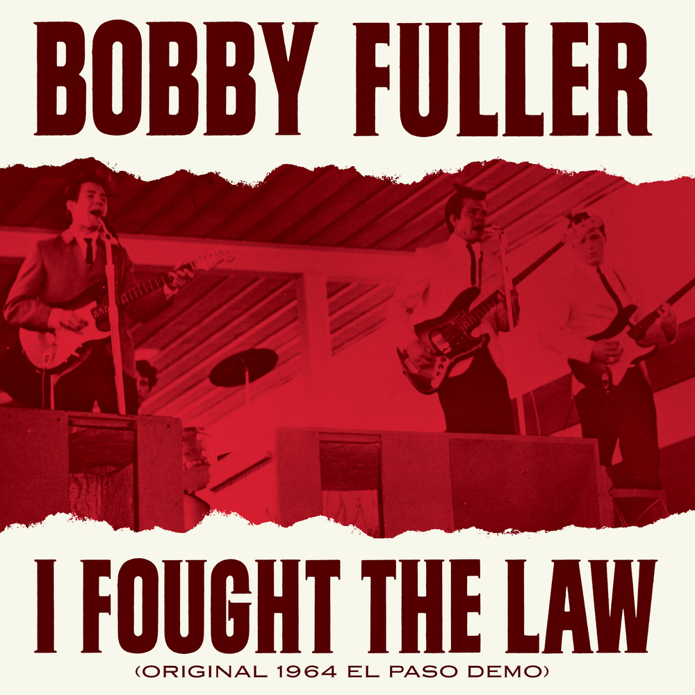 Bobby Fuller - I Fought the Law 45 sleeve