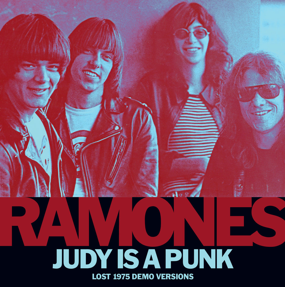Ramones - Judy Is A Punk 45 sleeve