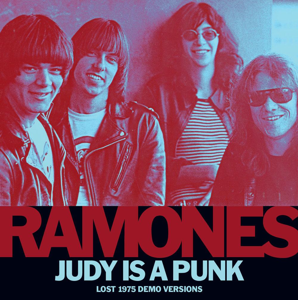 Ramones - Judy Is A Punk 45 sleeve
