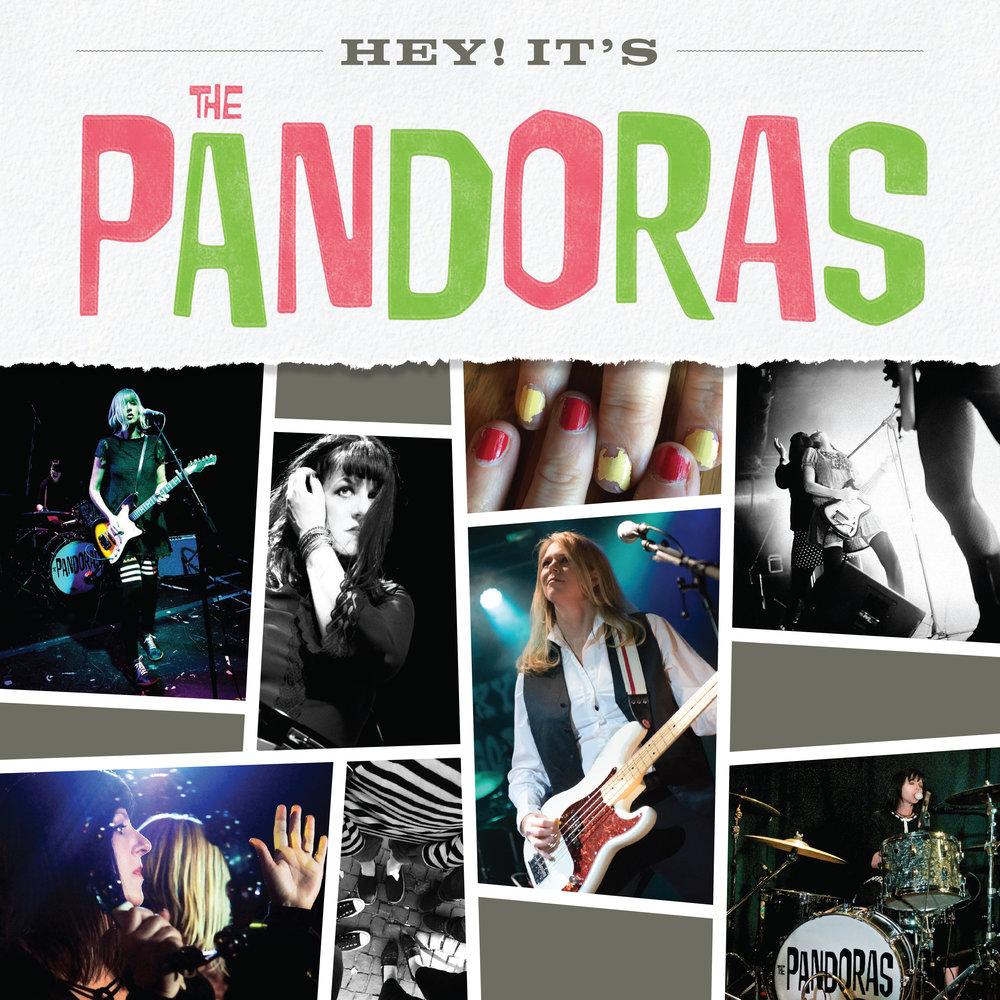 The Pandoras EP/CD cover
