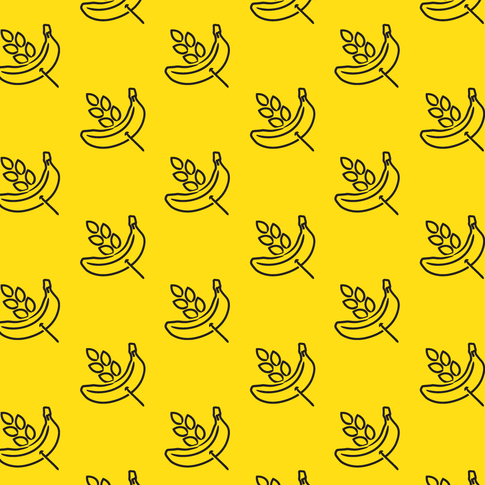 Pattern Illustration // Banana Oat