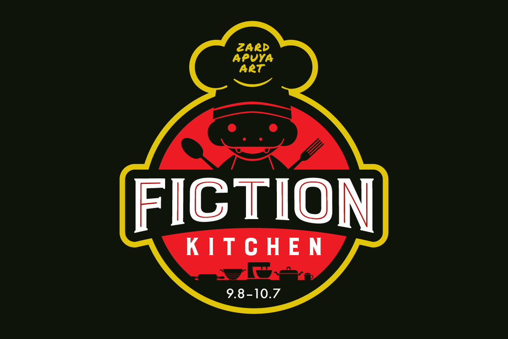Logo created for the Fiction Kitchen