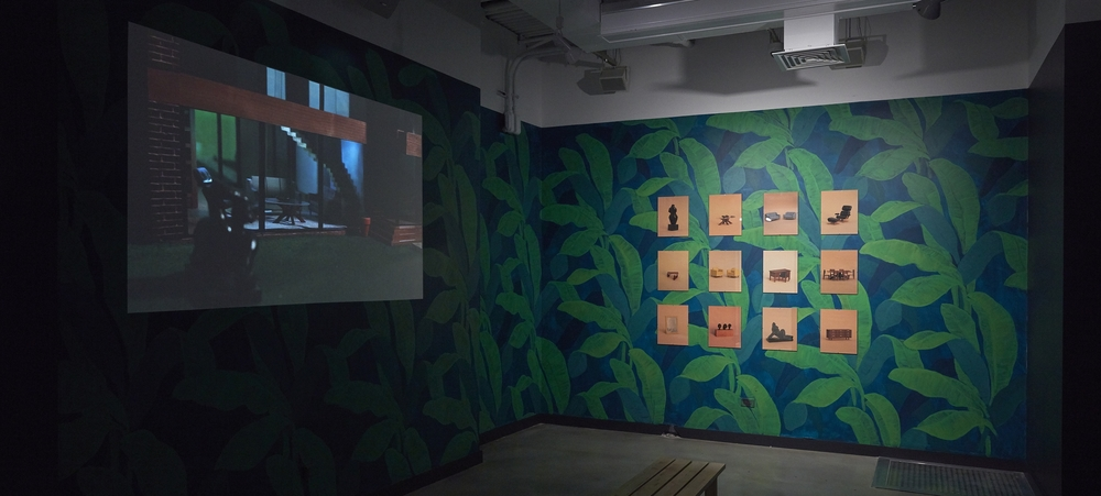 Installation shot of Eavesdropping exhibition at BRIC Arts Media, Brooklyn - March 2016