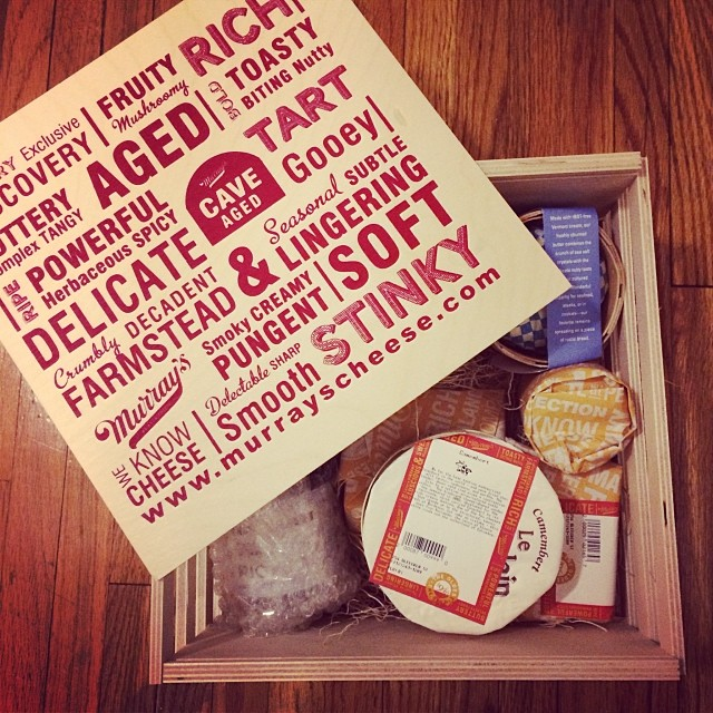 Cheese Box! Thanks Audrey & Chris!