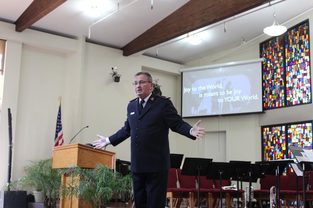 Commissioner James Knaggs - Territorial Commander