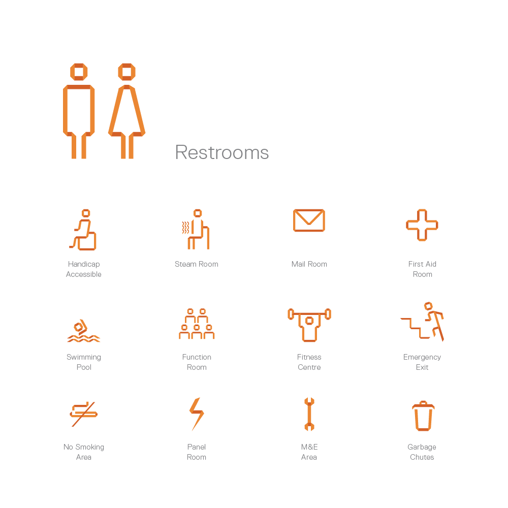 Graphic icons for the project.