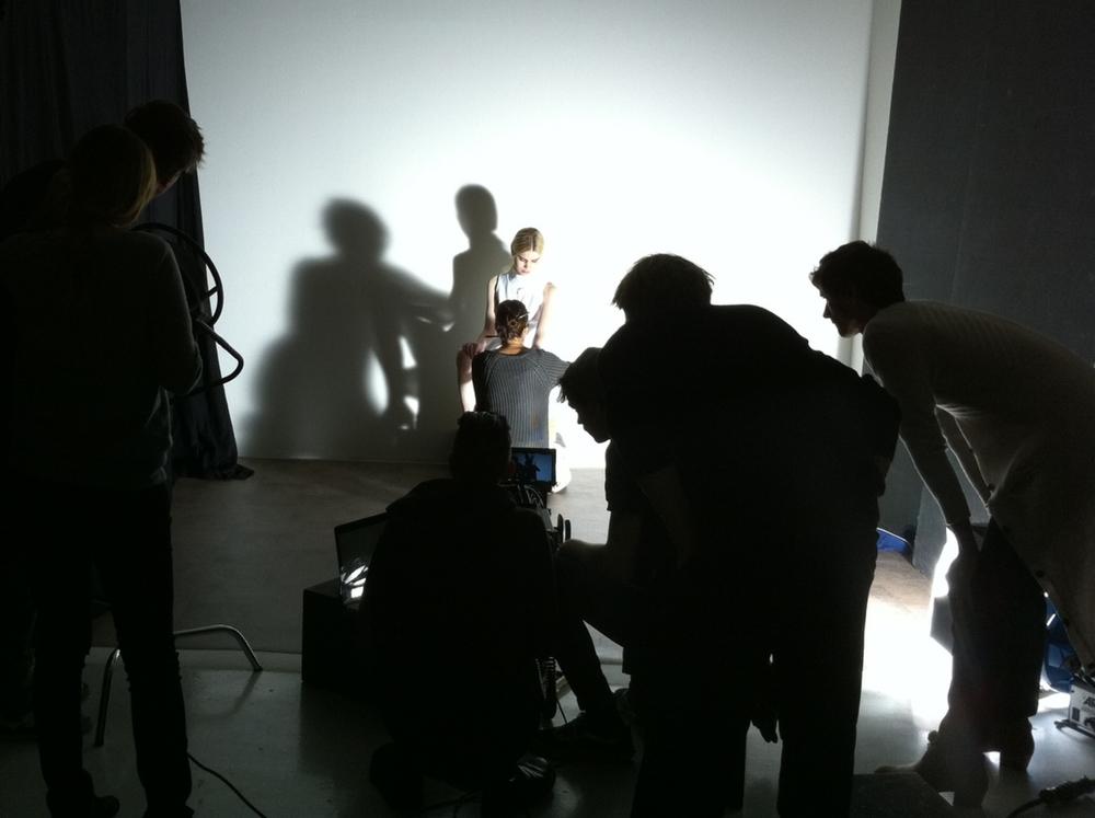 Under en plåtning för modeveckan i Paris arbetade jag tillsammans med Anna Dolata, representerad av Söderberg Agentur.
