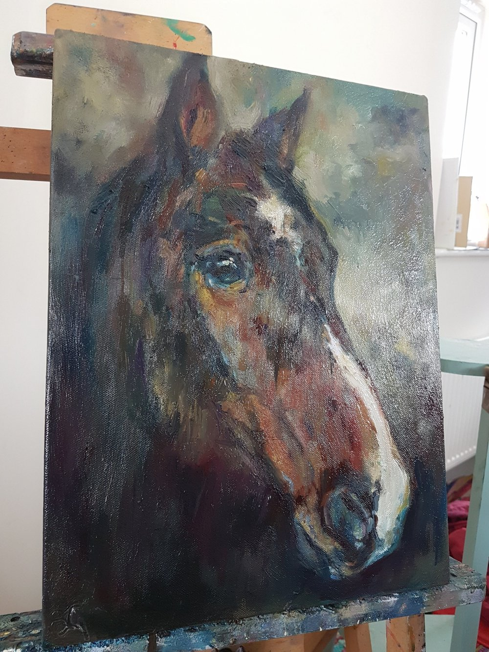 horse portrait in oils commission sue gardner 2018 (2).jpg