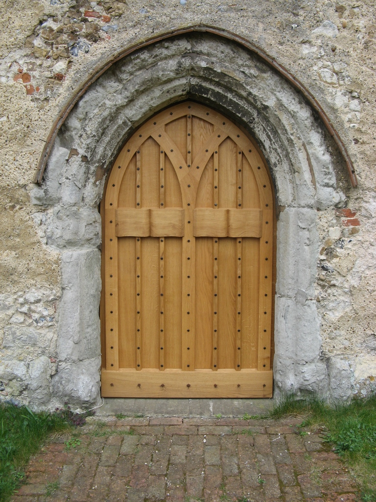 New west door