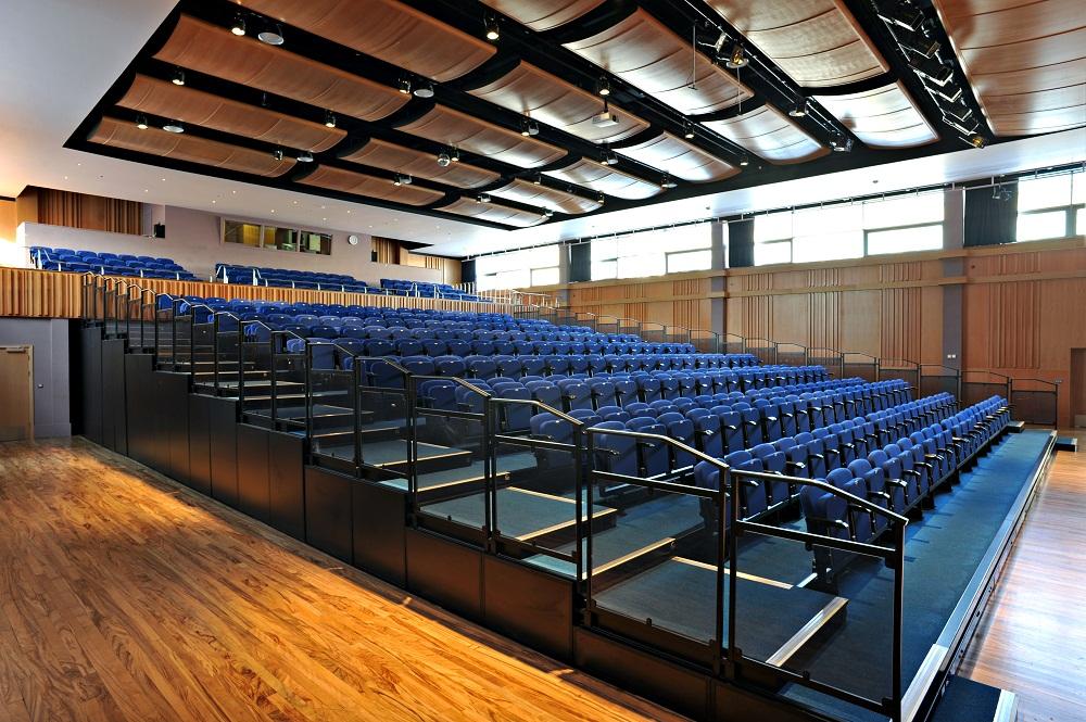 Products Overview Retractable Bleacher Auditorium