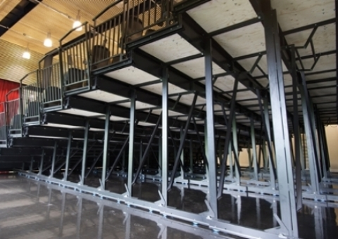 spares and refurbishment for retractable telescopic bleacher seating units