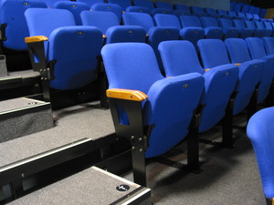 Auditorium seating & tiered seats and chairs — Retractable ...