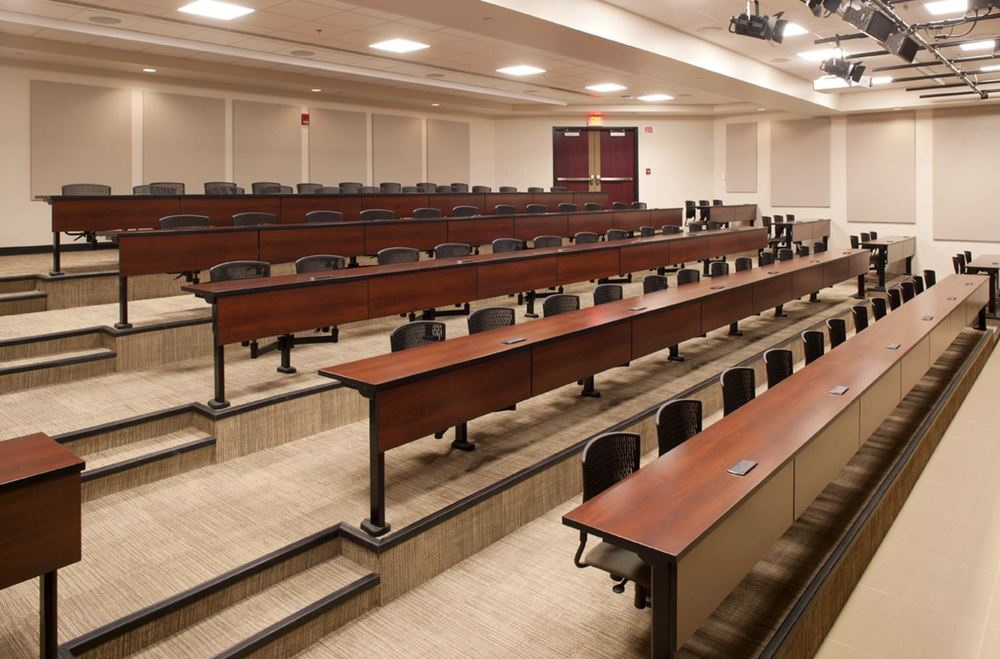 Clarin Learning Systems lecture seating