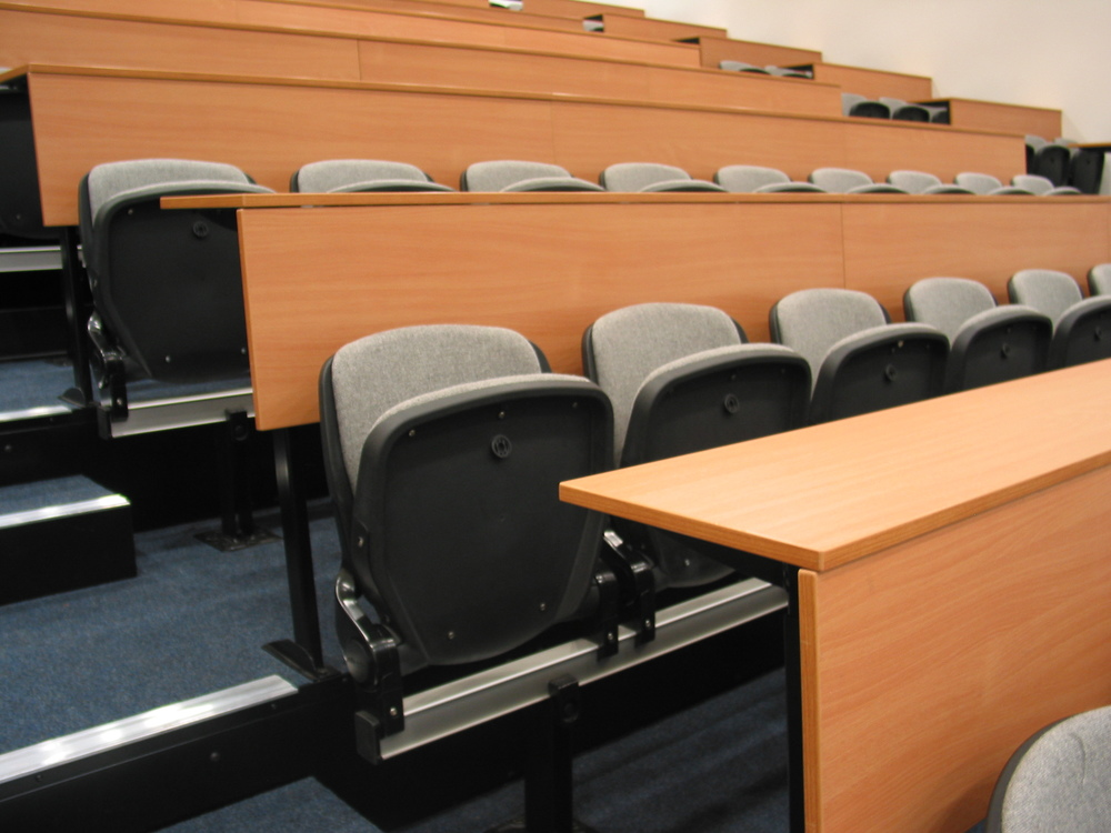 LT system lecture seating