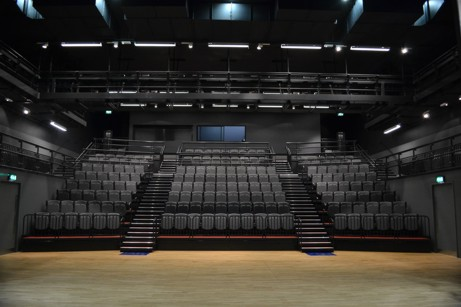Retractable seating for University of the Arts
