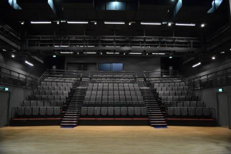 University Of The Arts London Retractable Bleacher