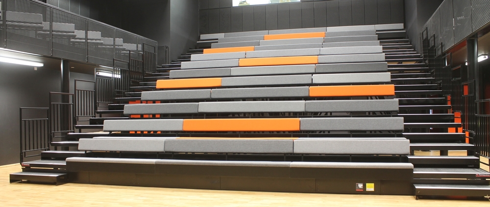 Multipurpose retractable bench seating
