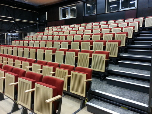 Telescopic seating systems and telescoping folding chairs ...