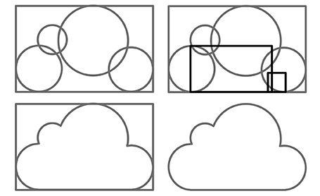 Cloud Shapes Drawing Powerpoint Cloud Shape