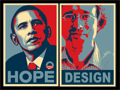 humor your own obama icon poster powerpoint templates and