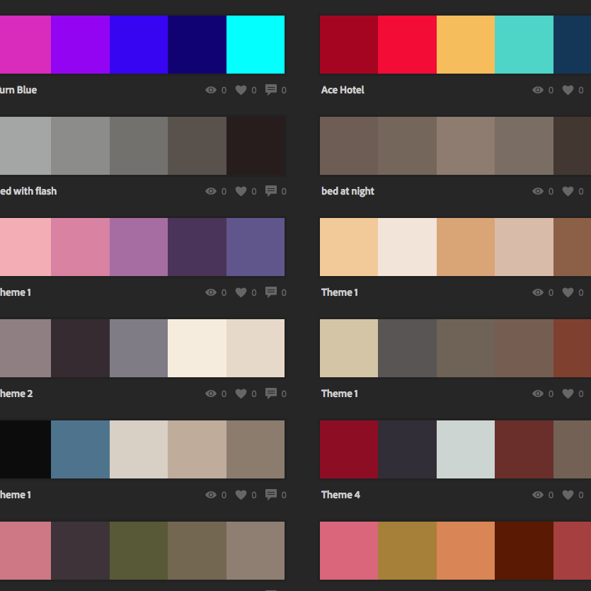 Adobe Color CC (formerly Adobe Kuler) is a great tool to create colour schemes.